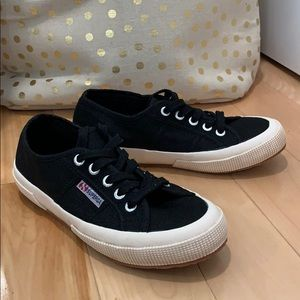 Black Superga Sneakers